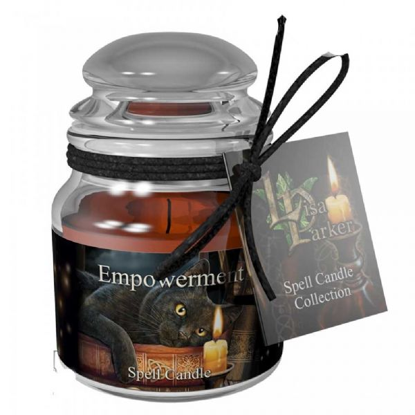 Lisa Parker EMPOWERMENT Spell Candle Jar by Nemesis Now